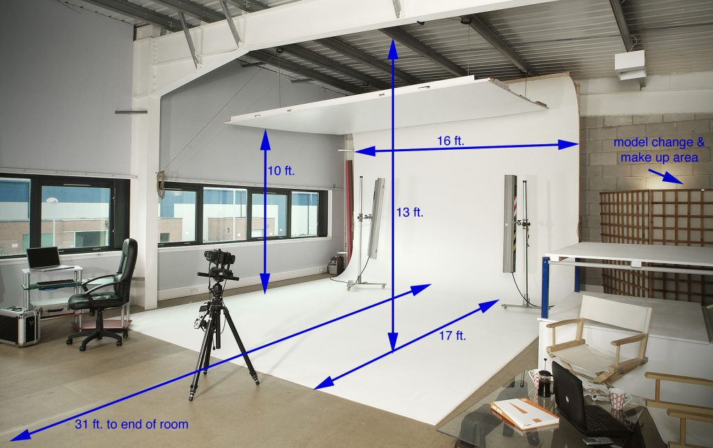 dimensions of mezzanine studio big shed Manchester